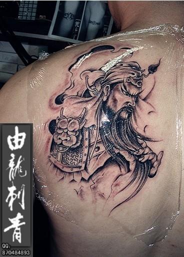 关公_纹身图案